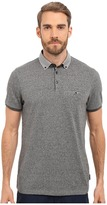 Ted Baker Zoomba Printed Woven Collar Polo