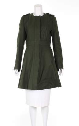 N. Non Signé / Unsigned Non Signe / Unsigned \N Khaki Wool Coats