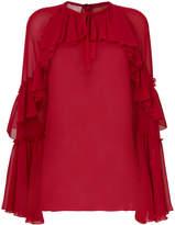 Giamba frill detail blouse