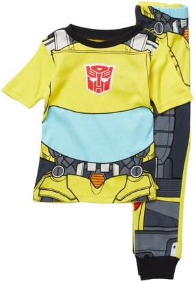 AME Transformers Knit Cotton Pajama Set