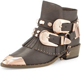 Ivy Kirzhner Santos Fringe Leather Bootie