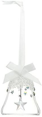 Swarovski Star Bell Ornament, Small (White) Wallet