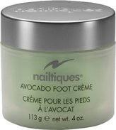 Nailtiques Avocado Foot Creme for Women, 4 Ounce
