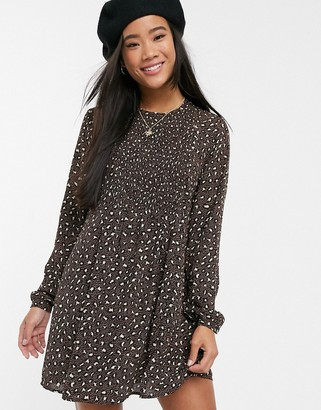 JDY Ricci long sleeve tunic dress