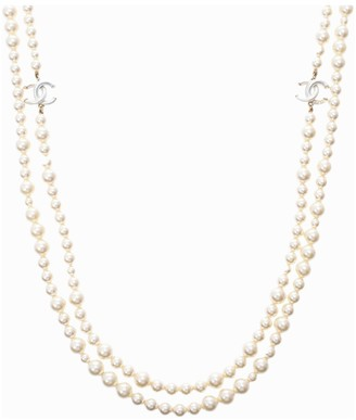 Chanel Beige Pearls Necklaces