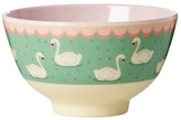 Rice Melamine Swan Bowl