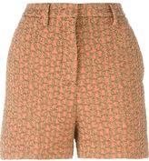 Rochas cloqué shorts - women - Spandex/Elastane/Polyamide/Polyester/Rayon - 38