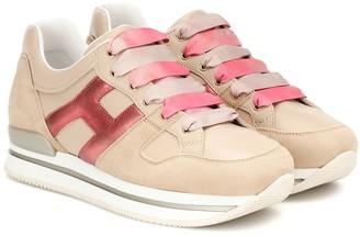 Hogan H222 suede sneakers