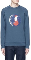 MAISON KITSUNÉ 'Fox Moon' print cotton sweatshirt