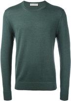 Gieves & Hawkes - ribbed trim jumper - men - Silk/Cashmere/Merino - L