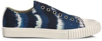 John Varvatos Vulcanized Tie-Dye Printed Sneakers