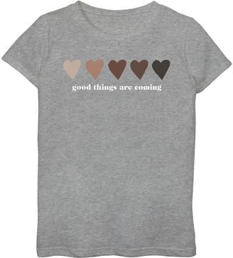 Fifth Sun Girls 7-16 Good Things Graphic Tee
