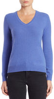 Lord & Taylor V-Neck Cashmere Sweater