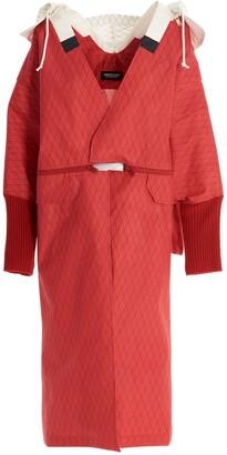 Undercover Hooded Oversize Coat