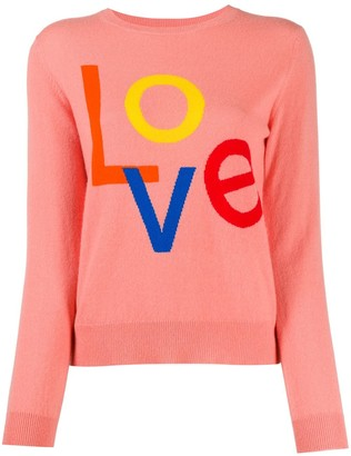 Chinti and Parker 'Love' cashmere knit jumper