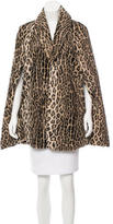 Anna Sui Faux Fur Cape
