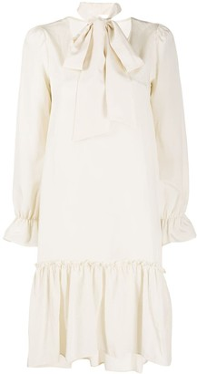 Ballantyne Ruffled Shift Dress