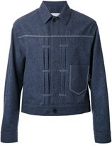 Maison Margiela collared shirt jacket