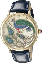 Betsey Johnson Women's BJ00496-33 Gold/Blue Watch
