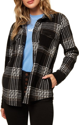 O'Neill Zuma Superfleece Plaid Shirt
