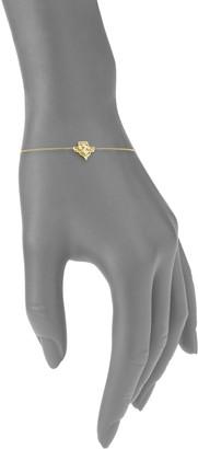 Amrapali Heritage 18K Yellow Gold & Diamond Fleur Fine Chain Bracelet