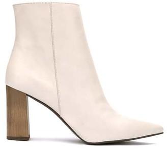 Mint Velvet Melanie Off-White Ankle Boots