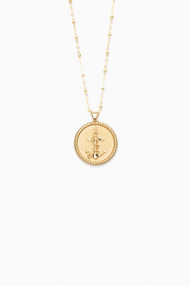 Jane Winchester Gold Strong Small Pendant