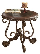 Ashley Rafferty End Table - Dark Brown - Signature Design®