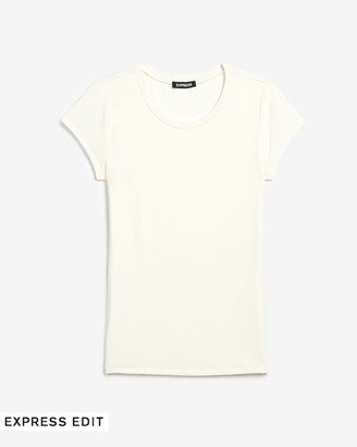 Express Fitted Crew Neck Tee