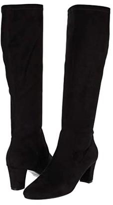 VANELi Deckel (Black Stretch Suede) Women's Boots