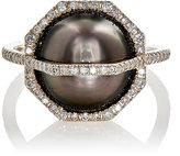 Monique Péan Women's Arch Ring-WHITE