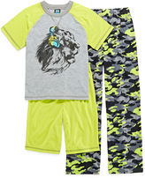 JCPenney JELLIFISH KIDS Jelli Fish Kids 3-pc. Lion Pajama Set - Boys 4-16