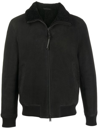Closed Shearling Lined Jacket