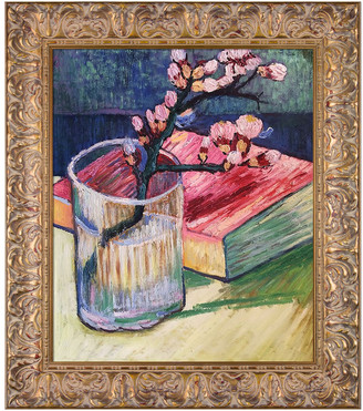 Museum Masters La Pastiche By Overstockart Blossoming Almond Branch In A Glass