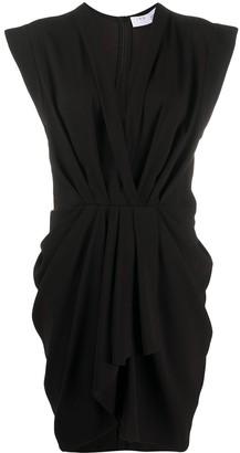 IRO Draped V-Neck Dress