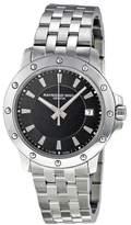 Raymond Weil 5599 Tango Black Dial Stainless Steel Bracelet Quartz Mens Watch