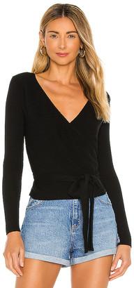 Privacy Please Jamison Wrap Sweater