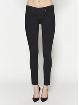 L'Agence The Chantal Low Rise Skinny In Noir