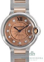 Cartier Women's WE902054 Ballon Bleu Analog Display Automatic Self Wind Two Tone Watch