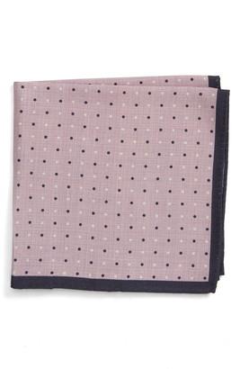 Nordstrom Reversible Silk Pocket Square