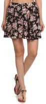Simplicity women's Floral Print Flared A Line Skirt , Floral, L