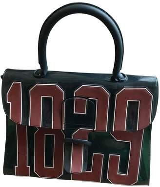 Delvaux Le Brillant Green Plastic Handbags