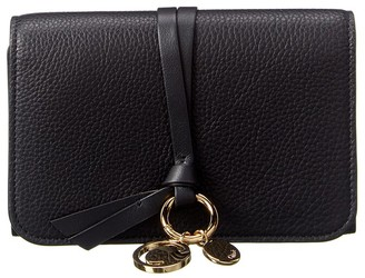 Chloé Alphabet Leather French Wallet