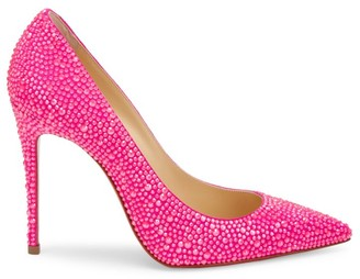 Christian Louboutin Kate Strass Leather Pumps