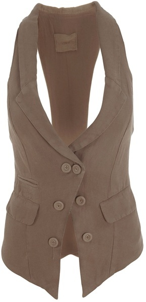 H. Eich Military inspired waistcoat