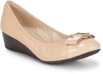 Cole Haan Emory Bow Wedge Shoes