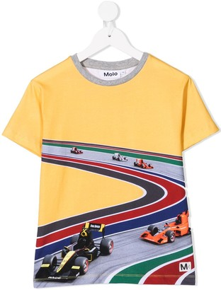 Molo Full Speed Curve print T-shirt