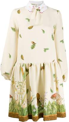 VIVETTA forest print dress