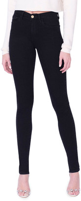 Midheaven Denim Tallulah High-Rise Skinny Jeans w/ Split Hem, Tall