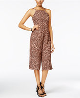 Material Girl Juniors' Open-Back Gaucho Jumpsuit, Created for Macy's
